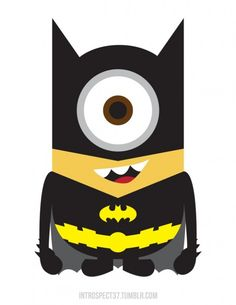 BatMinion - so excited for the premeire tonight!