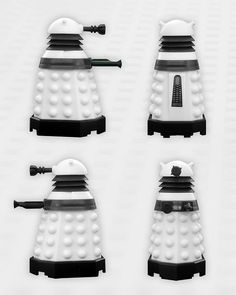 Doctor Who Character Building Supreme Dalek Profile by The Doctor Who Site, via Flickr