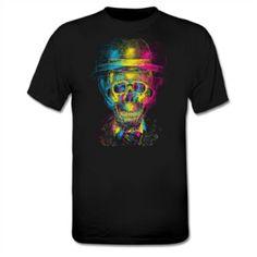 psychadelic skull