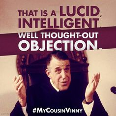 My Cousin Vinny Quotes My Cousin Vinny Classic  Great Movie Lines  Pinterest  Movie