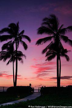 Kahekilli Beach, Kaanapali, Maui, Hawaii.