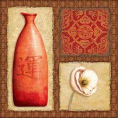 Oriental Collage I by Corbin, Delphine