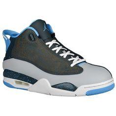 nike air jordan dub zero mens hi top basketball trainers 311046 sneakers  shoes (uk us eu wolf grey university blue classic charcoal