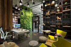 Architectural Office And Showroom Puts An Artistic Spin On Eclecticism