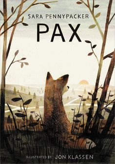 """Cover Reveal: Pax by Sara Pennypacker -On sale February 2nd 2016 by Balzer and Bray/Harper Collins  -Pax was only a kit when his family was killed, and """"his boy"""" Peter rescued him from abandonment and certain death. Now the war front approaches, and when Peter's father enlists, Peter has to move in with his grandpa. Far worse than being forced to leave home is the fact that Pax can't go. Peter listens to his stern father—as he usually does—and throws Pax's favorite toy soldier into the…"""