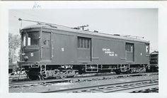 5D971-RP-1947-CHICAGO-AURORA-ELGIN-RAILROAD-FREIGHT-5-NEW-PAINT-WHEATON-IL