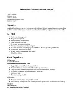 bartender resume objectives - Template