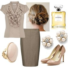 A fashion look from July 2012 featuring shirts & blouses, pencil skirt and high heel shoes. Browse and shop related looks.
