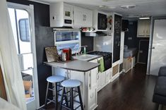 Traveling Triads: Travel Trailer Remodel