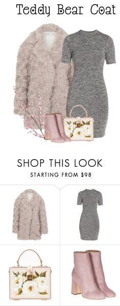 """""""coat"""" by the-vintage-palace2016 ❤ liked on Polyvore featuring Maison Margiela, French Connection, Dolce&Gabbana, Laurence Dacade and Pier 1 Imports"""