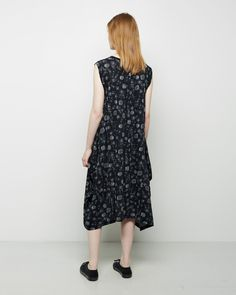 ZUCCA | Flower Calico Dress | Shop at La Garçonne