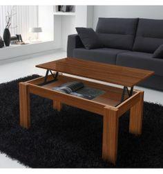 Table basse relevable en bois Noyer  http://www.deco-et-saveurs.com/3217-table-basse-relevable-finition-noyer-rectangulaire.html