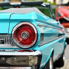 '64 Ford Falcon Sprint. Love the color ! Maybe for my car ?