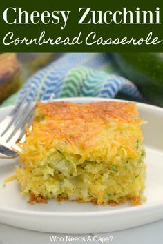 Cheesy Zucchini Cornbread Casserole is a great use of zucchini and adding a veggie to your meal. This comforting dish is easy to prepare, your family will love it. Cheesy Broccoli Bites Recipe, Broccoli Cornbread, Zucchini Cornbread, Zucchini Cheese, Cornbread Casserole, Zucchini Casserole, Cornbread Mix, Casserole Recipes, Zucchini Bread