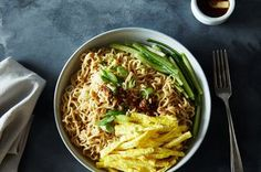 mouth-numbing szechuan noodles