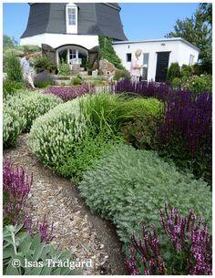 Herb garden | jarden potager | Isas Trädgård: Perennarabatten