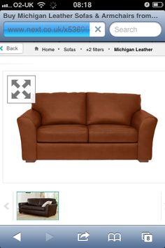 Next Michigan sofa in Bolivia tan