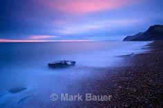 WD025 Twilight, Eype's Mouth - West Dorset