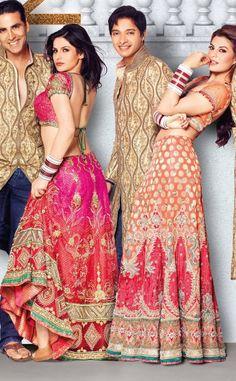 » Aki Narula designs bridal wear for Housefull 2