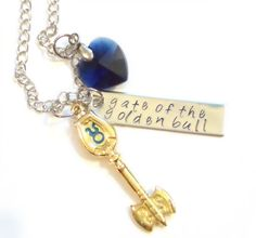The Celestial Key to Taurus Necklace