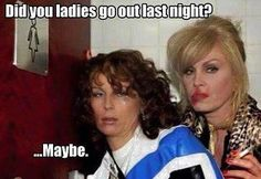 Ha ha.....Im sure there have been plenty of sore heads today! #ladies #drinking #goout #funny #lastnight #abfab #instagood #instagram #lzboutique #hangover