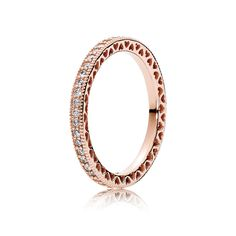 Hearts of PANDORA, PANDORA Rose™ & Clear CZ - Pandora US | PANDORA the perfect promise ring
