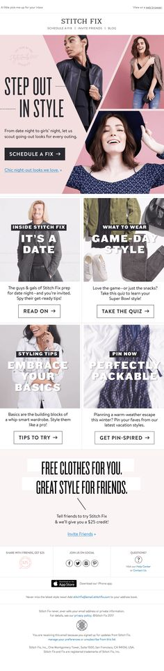Fashion - Really Good Emails