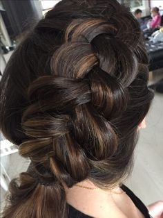 Dutch Braid http://lauravankolk.com/  MUAH : Laura van kolk