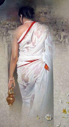 Seductive Quotes, Bamboo Art, Indian Paintings, Rare Photos, India Beauty, Indian Girls, Erotic Art, Beautiful Paintings, Simply Beautiful