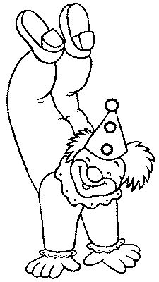 Coloring pages for kids to print - Clowns and circus coloring Clown Crafts, Circus Crafts, Animal Coloring Pages, Colouring Pages, Coloring Books, Carnival Themes, Circus Theme, Image Cirque, Clown Party