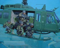 US Military in action art prints -*Repin by Tburg*