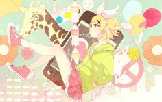 Vocaloid - Rin Kagamine (鏡音 リン)