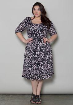 I LOVE this dress!!   Plus Size Dresses | Skylar Dress | Swakdesigns.com