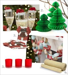 decoration table noel inspiration rouge et vert #decorationtablenoel #decorationnoelrougeetvert red and green christmas decoration