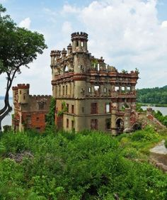 Bannerman Castle in Pollepel Island, New York.