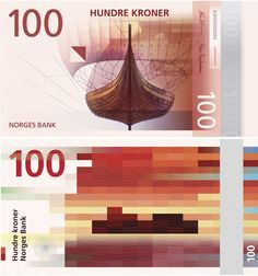 Nice! Dit is het nieuwe gepixelde briefgeld van Noorwegen - | Want.nl