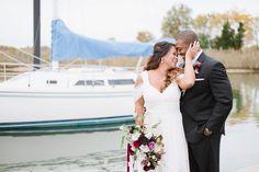 Plum and Magenta Wedding   Seaside + Beach Inspiration by Natalie Franke Photography