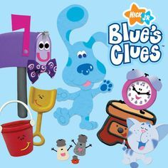"""Blue's Clues -- helps children learn to solve """"mysteries"""" through finding clues throughout each show - November 2014 Right In The Childhood, Childhood Tv Shows, Childhood Movies, 90s Tv Shows, Kids Shows, Kids Tv, 90s Kids, Best Kids Watches, Childhood Memories 90s"""