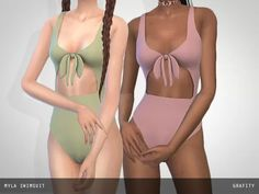 Myla Swimsuit - The Sims 4 Download - SimsDom