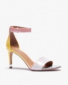Marc By Marc Jacobs Degrade Patent Sandal Heel   LuckyShops