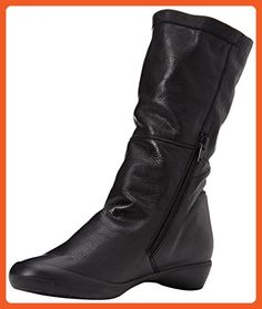 Softinos Fola Womens Casual Boots 7 / 40 Black - Boots for women (*Amazon Partner-Link)