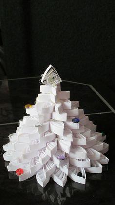 vánoční stromeček - qulling