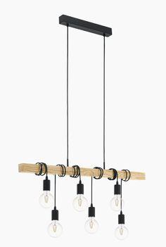 Taklampe for 6 dekorpærer Mountain Cottage, Chandelier, Ceiling Lights, Lighting, Pendant, Design, Home Decor, Metal, Homemade Home Decor