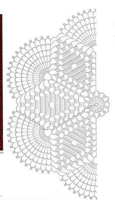 Resultado de imagem para sousplat croche grafico