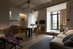 olga akulova / lva tolstogo street apartment, kiev