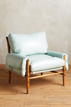 hate the color, but this has the link to the chair... Premium Leather Rhys Chair #anthropologie