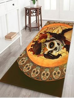 Beautiful Ocean World Print Non Slip Floor Rug Bathroom Carpet, Bathroom Rugs, Bath Rugs, Non Slip Flooring, Carpet Flooring, Rugs On Carpet, Skull Fashion, Animal Fashion, Fleece Patterns