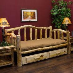 Rustic Log Furniture - Log Furniture