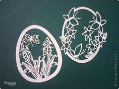 Поделка изделие Пасха Вырезание Весна Пасха Бумага фото 5