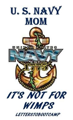 US Navy Mom for my mama!!